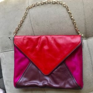 BANANA REBUBLIC SHOULDER BAG REMOVABLE CHAIN STRAP